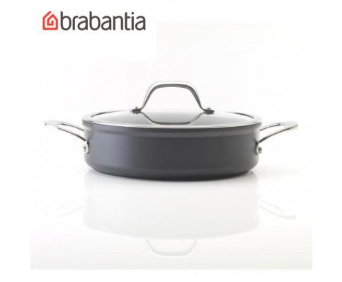 Brabantia kookpan met glazen deksel