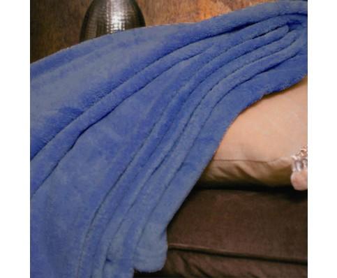 fleece plaid deken 150x200