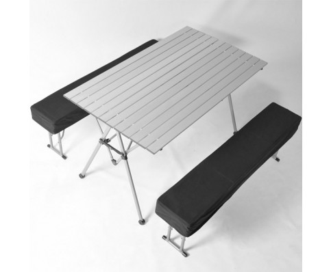 Picknicktafel inklapbaar aluminium