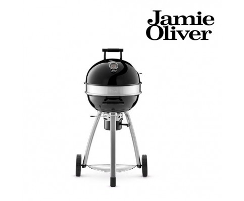 jamie oliver bbq barbecue round houtskool