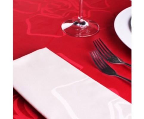 Nicky vankets tafelloper rood