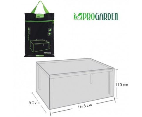 Progarden luxe afdekhoes tafel 165x115x80 perfect deal for Afdekhoes tafel