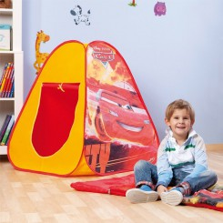 Cars pop-up tent slaapzak