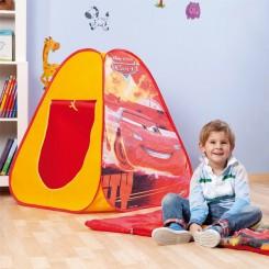 Cars pop-up tent slaapzak