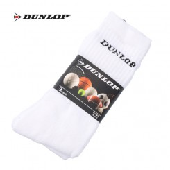 Dunlop sport sokken tennis wit
