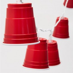 Red Cups bekers feestverlichting