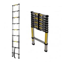 Telescopische ladder 9 treden