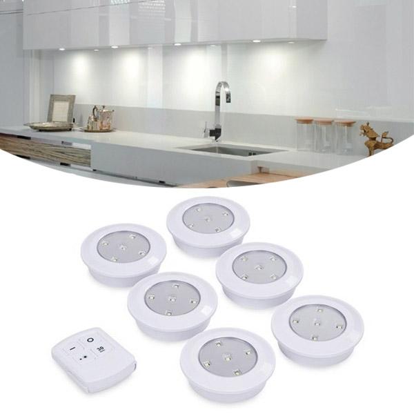 Draadloze LED spots met afstandsbediening
